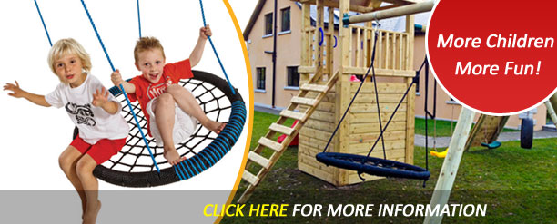 Nest Swings- more children, more fun, more action!