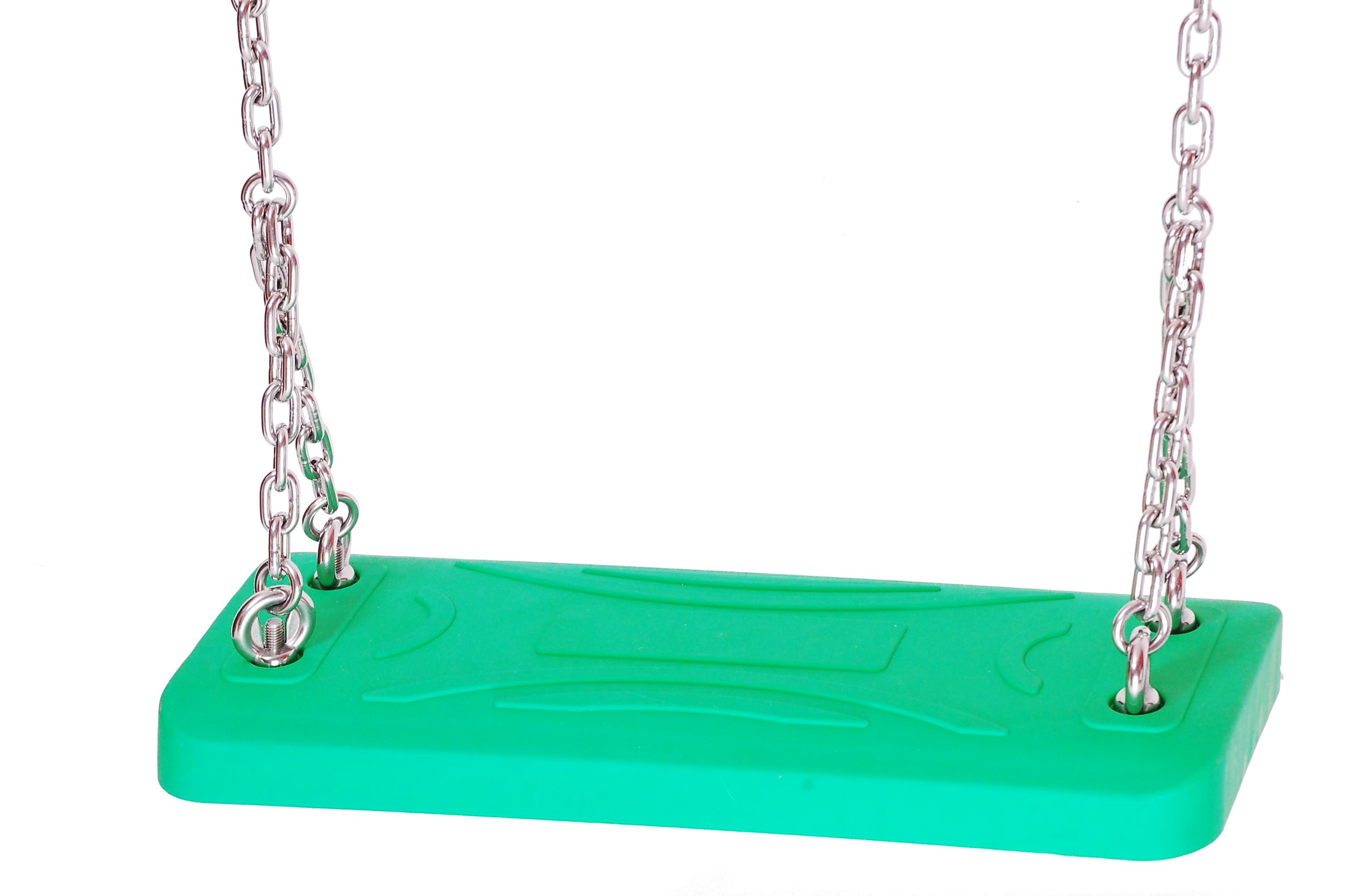 Swinging Aluminium Insert Heavy Duty Swing Seat With Chains