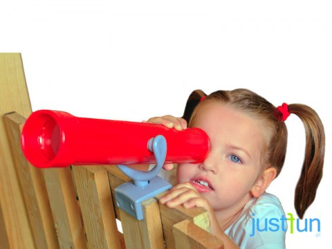 plastic toy kids telescope for climbing frame tree house play house outdoor play children telescope_006