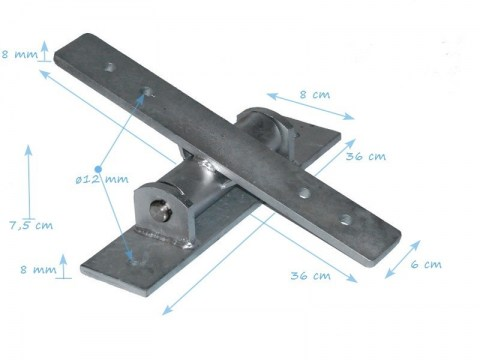 see saw bearing galvanized Commercial Seesaw Hinge home playground use for seesaw swing seat kids