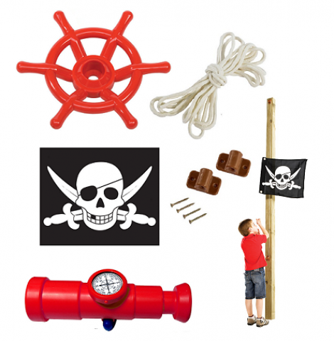 set pirate red